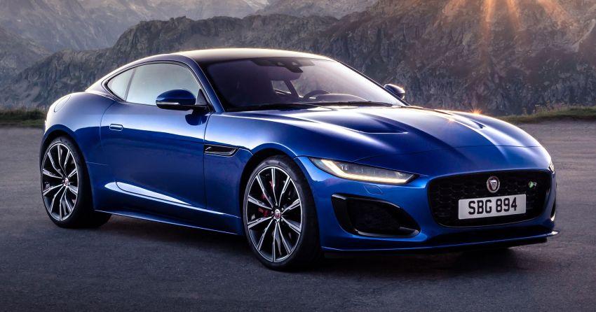 2020 Jaguar F-Type Coupe, Convertible facelift debut – 5.0L V8 RWD returns, improved tech; fr RM292k in UK Image #1055275