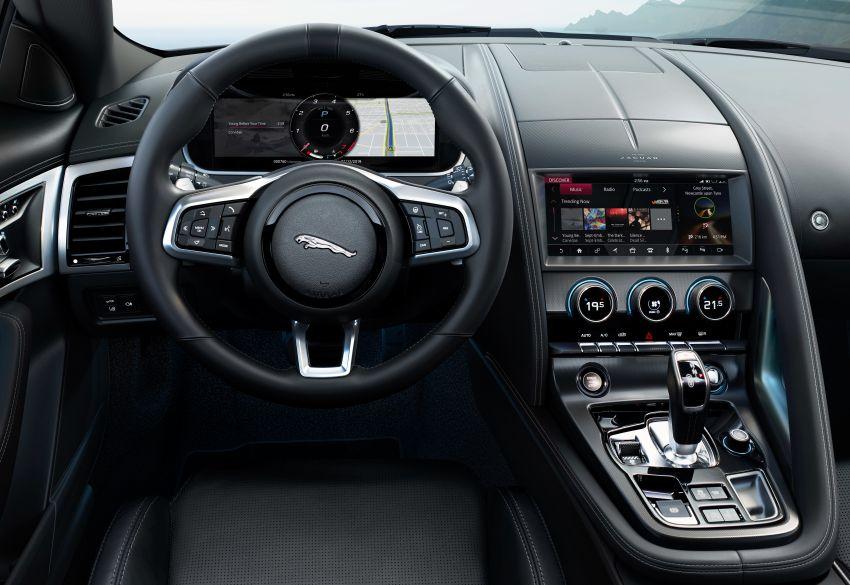 2020 Jaguar F-Type Coupe, Convertible facelift debut – 5.0L V8 RWD returns, improved tech; fr RM292k in UK Image #1055240