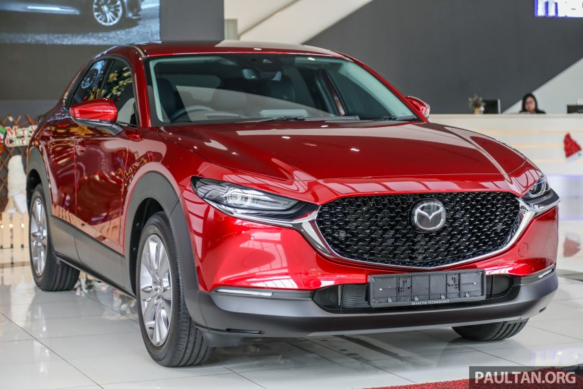 GALLERY: Mazda CX-30 2.0L Skyactiv-G in Malaysia – High spec variant with keyless entry, AEB; RM164k Image #1062680