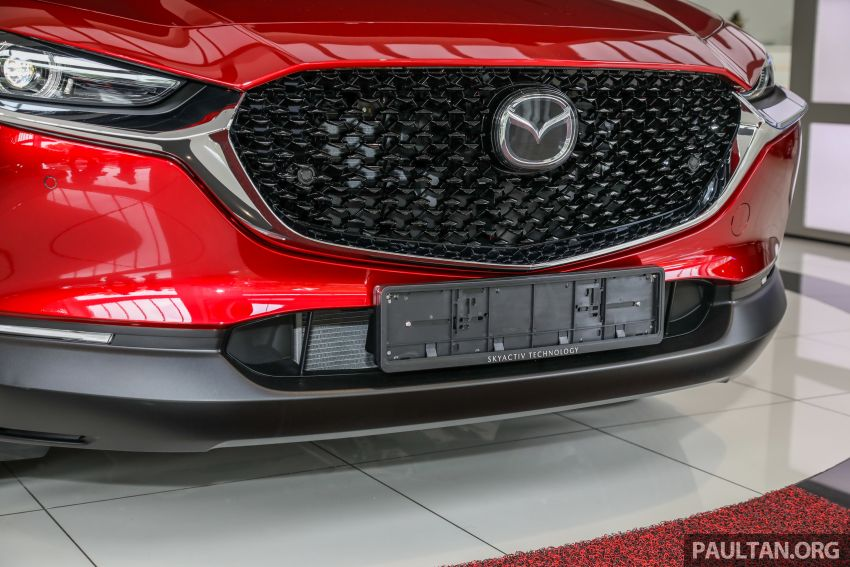 GALLERY: Mazda CX-30 2.0L Skyactiv-G in Malaysia – High spec variant with keyless entry, AEB; RM164k Image #1062689