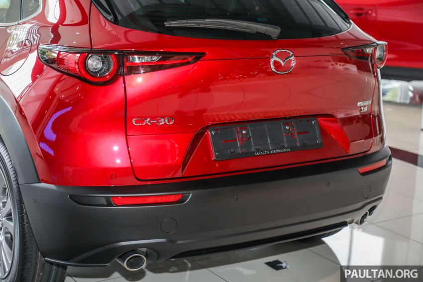 GALLERY: Mazda CX-30 2.0L Skyactiv-G in Malaysia – High spec variant with keyless entry, AEB; RM164k Image #1062701