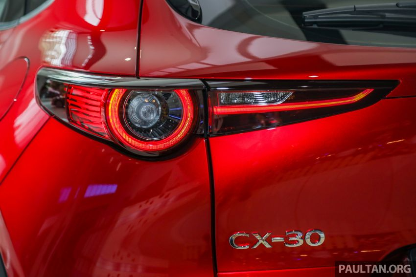 GALLERY: Mazda CX-30 2.0L Skyactiv-G in Malaysia – High spec variant with keyless entry, AEB; RM164k Image #1062702