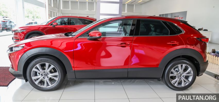 GALLERY: Mazda CX-30 2.0L Skyactiv-G in Malaysia – High spec variant with keyless entry, AEB; RM164k Image #1062682
