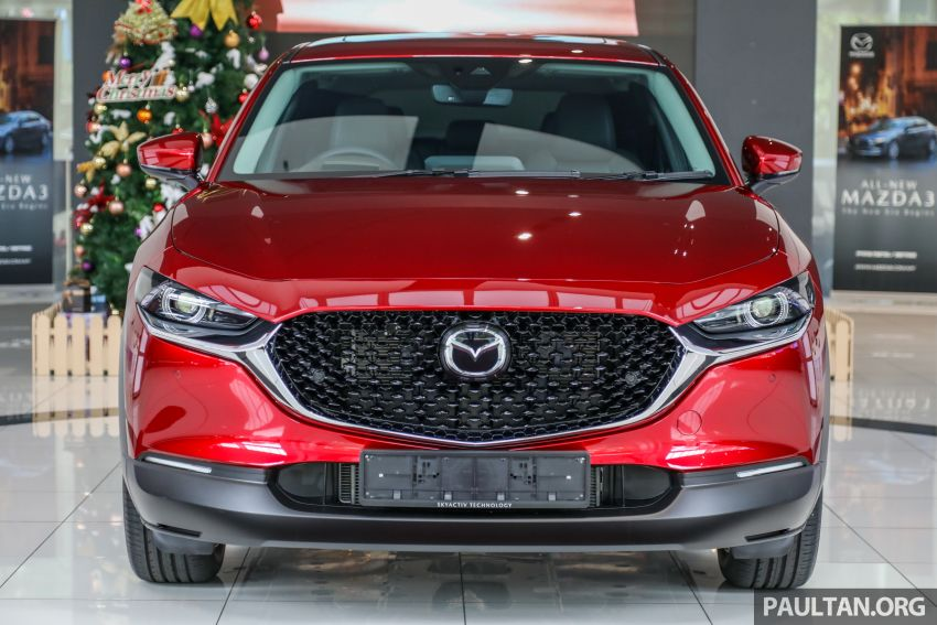 GALLERY: Mazda CX-30 2.0L Skyactiv-G in Malaysia – High spec variant with keyless entry, AEB; RM164k Image #1062683