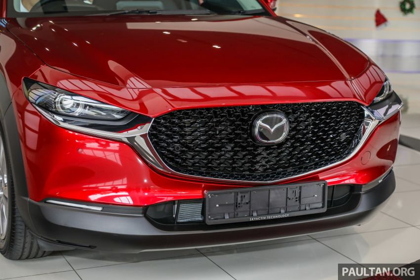 GALLERY: Mazda CX-30 2.0L Skyactiv-G in Malaysia – High spec variant with keyless entry, AEB; RM164k Image #1062685
