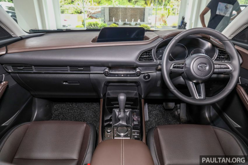 GALLERY: Mazda CX-30 2.0L Skyactiv-G in Malaysia – High spec variant with keyless entry, AEB; RM164k Image #1062711