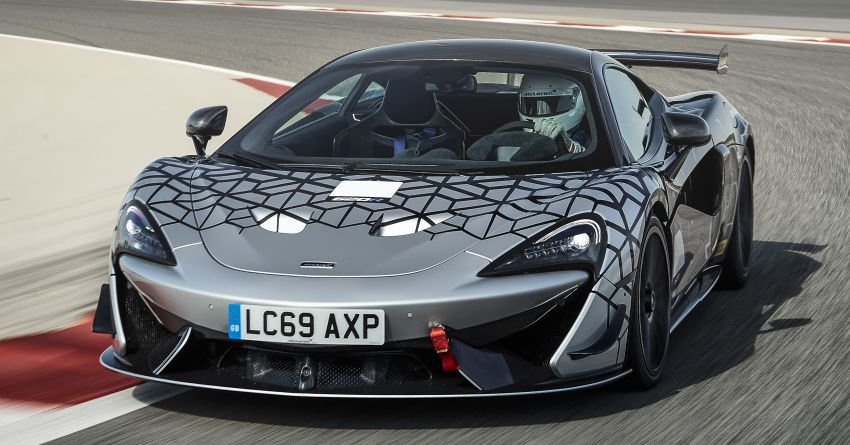 McLaren 620R – road-legal version of 570S GT4 racer Image #1057759