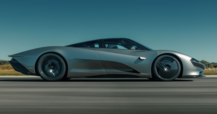 McLaren Speedtail is the fastest, most technically advanced model ever – 1,050 PS, 1,150 Nm, 403 km/h! Image #1062966
