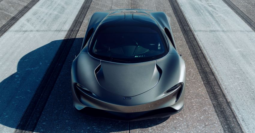 McLaren Speedtail is the fastest, most technically advanced model ever – 1,050 PS, 1,150 Nm, 403 km/h! Image #1062967