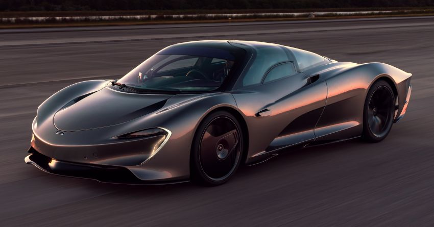 McLaren Speedtail is the fastest, most technically advanced model ever – 1,050 PS, 1,150 Nm, 403 km/h! Image #1062970