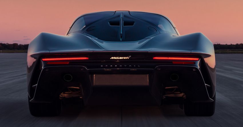 McLaren Speedtail is the fastest, most technically advanced model ever – 1,050 PS, 1,150 Nm, 403 km/h! Image #1062972