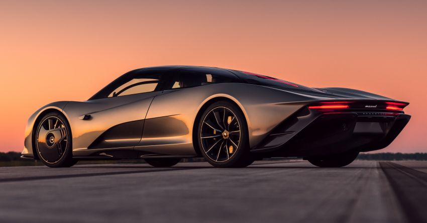 McLaren Speedtail is the fastest, most technically advanced model ever – 1,050 PS, 1,150 Nm, 403 km/h! Image #1062973