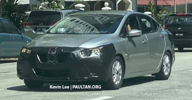 SPYSHOTS: 2020 Nissan Almera spotted in Malaysia Image #1055483