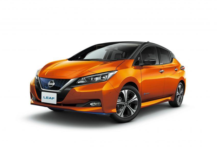 2020 Nissan Leaf gets updated ProPilot in Japan Image #1060639