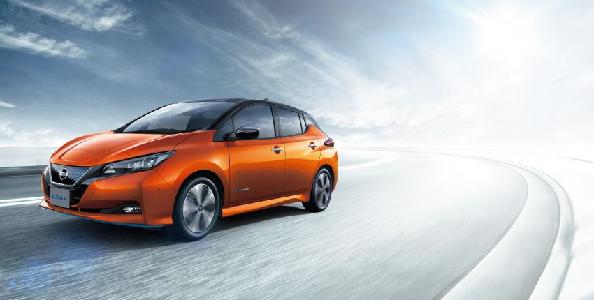 2020 Nissan Leaf gets updated ProPilot in Japan Image #1060660