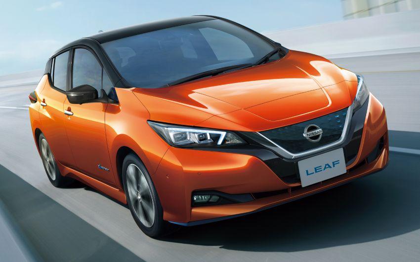2020 Nissan Leaf gets updated ProPilot in Japan Image #1060661