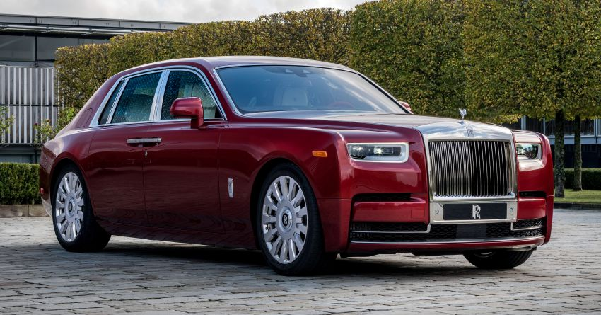 Custom Rolls-Royce RED Phantom made to fight AIDS Image #1055530