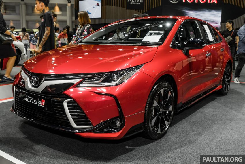 GALLERY: 2019 Toyota Corolla Altis GR Sport on show at Thailand Motor Expo – 140 PS 1.8L; from RM138k Image #1054769