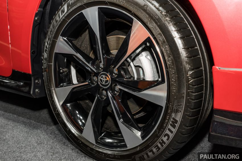 GALLERY: 2019 Toyota Corolla Altis GR Sport on show at Thailand Motor Expo – 140 PS 1.8L; from RM138k Image #1054779