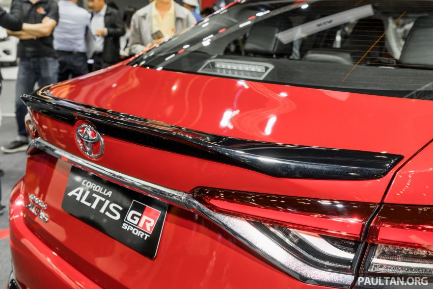 GALLERY: 2019 Toyota Corolla Altis GR Sport on show at Thailand Motor Expo – 140 PS 1.8L; from RM138k Image #1054786