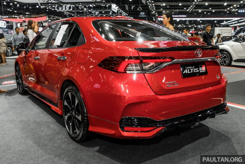 GALLERY: 2019 Toyota Corolla Altis GR Sport on show at Thailand Motor Expo – 140 PS 1.8L; from RM138k Image #1054770