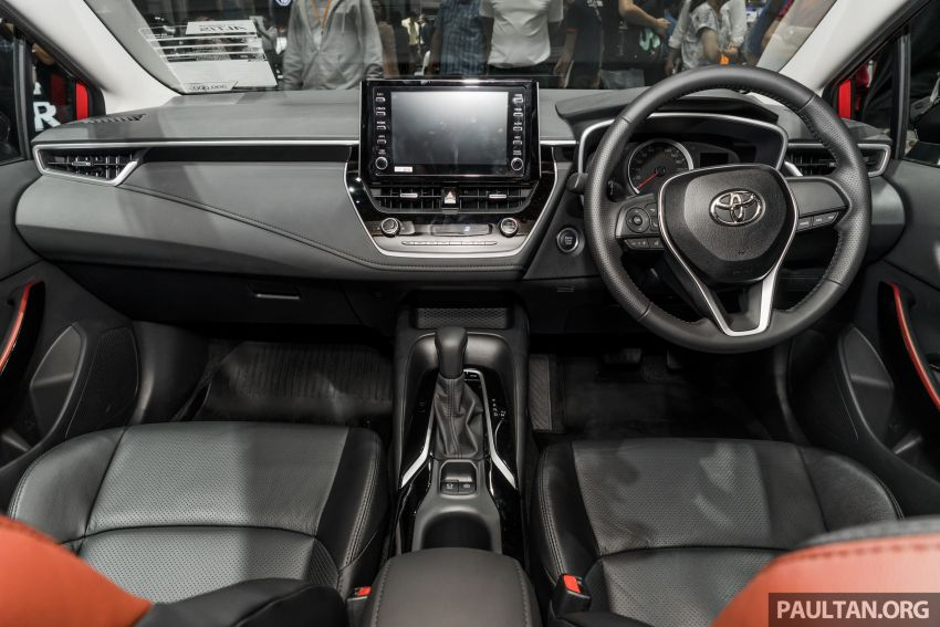 GALLERY: 2019 Toyota Corolla Altis GR Sport on show at Thailand Motor Expo – 140 PS 1.8L; from RM138k Image #1054792