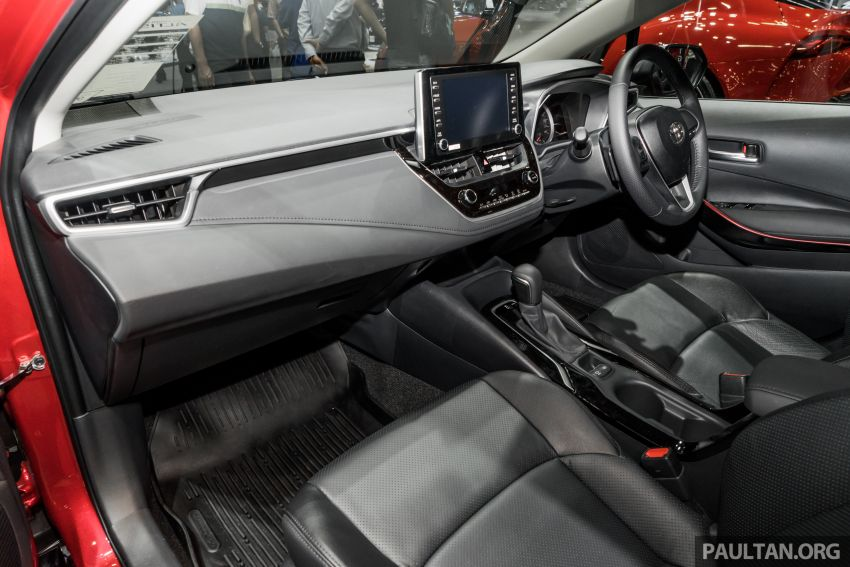 GALLERY: 2019 Toyota Corolla Altis GR Sport on show at Thailand Motor Expo – 140 PS 1.8L; from RM138k Image #1054793