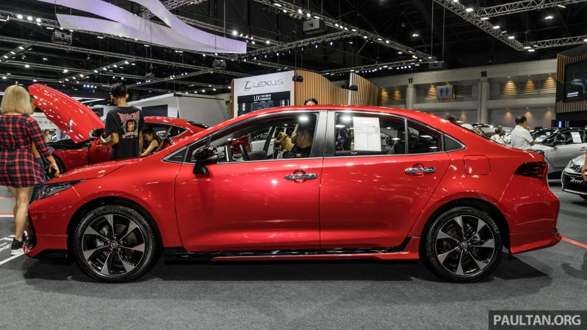 GALLERY: 2019 Toyota Corolla Altis GR Sport on show at Thailand Motor Expo – 140 PS 1.8L; from RM138k Image #1054771