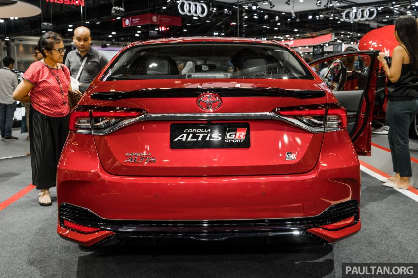 GALLERY: 2019 Toyota Corolla Altis GR Sport on show at Thailand Motor Expo – 140 PS 1.8L; from RM138k Image #1054773