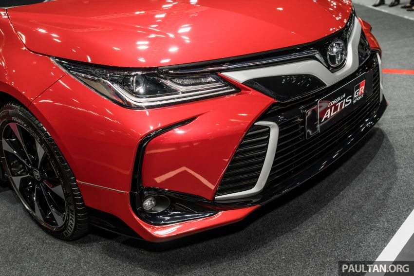 GALLERY: 2019 Toyota Corolla Altis GR Sport on show at Thailand Motor Expo – 140 PS 1.8L; from RM138k Image #1054774