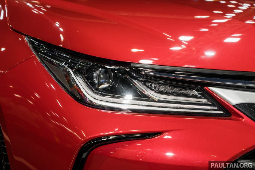 GALLERY: 2019 Toyota Corolla Altis GR Sport on show at Thailand Motor Expo – 140 PS 1.8L; from RM138k Image #1054775