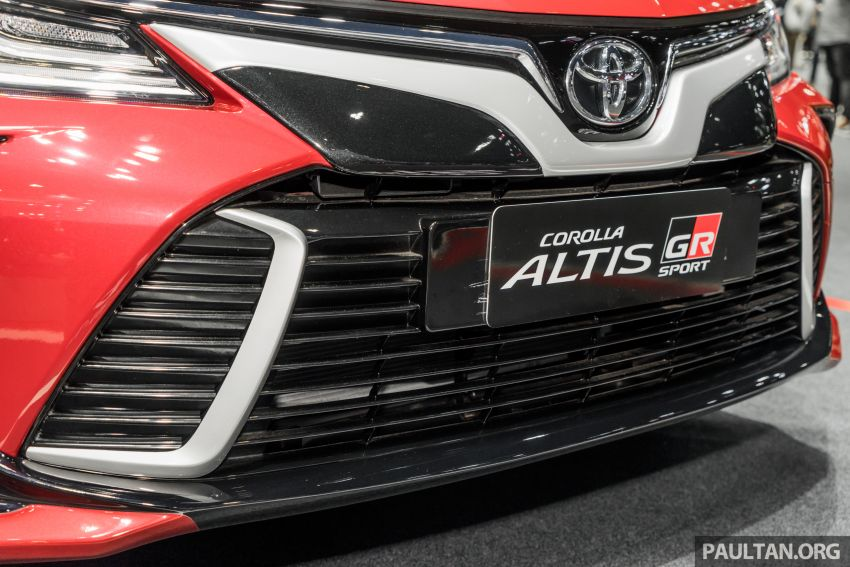 GALLERY: 2019 Toyota Corolla Altis GR Sport on show at Thailand Motor Expo – 140 PS 1.8L; from RM138k Image #1054777