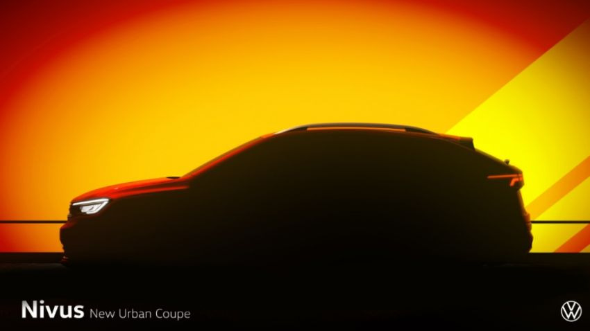 2020 Volkswagen Nivus teased – first debut in Brazil Image #1056803