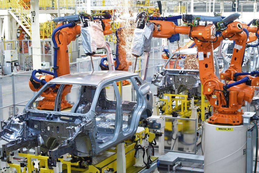 Produksi Proton X70 CKD di Tanjung Malim bermula – turut akan dieksport ke pasaran luar seperti UK Image #1059801