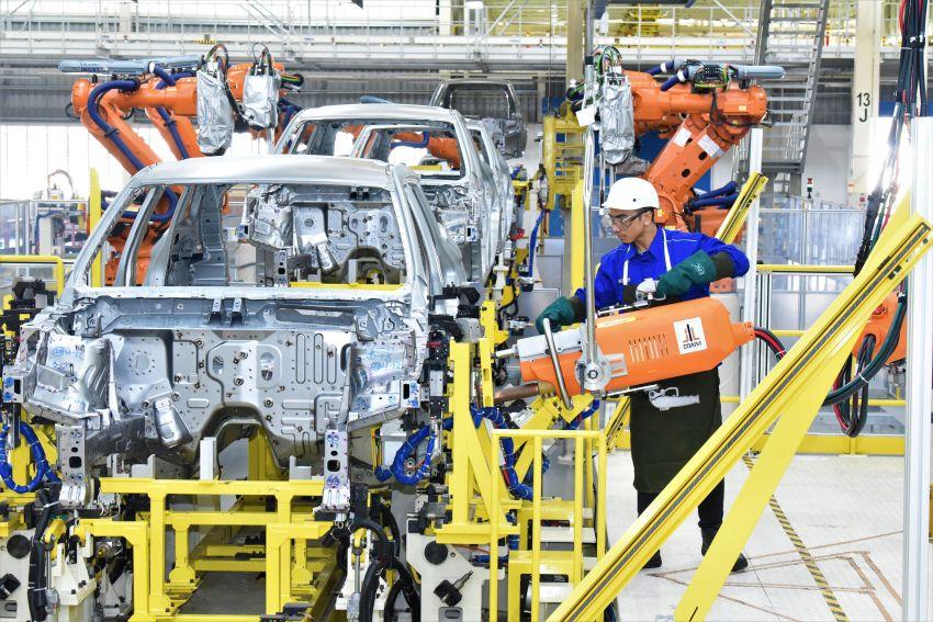 Produksi Proton X70 CKD di Tanjung Malim bermula – turut akan dieksport ke pasaran luar seperti UK Image #1059802