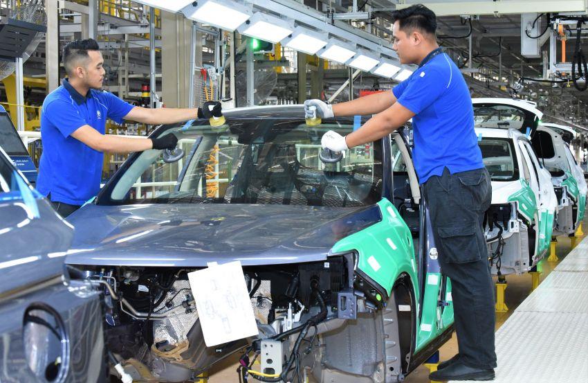 Produksi Proton X70 CKD di Tanjung Malim bermula – turut akan dieksport ke pasaran luar seperti UK Image #1059805