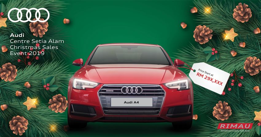 AD: Enjoy up to RM30,000 off at the Audi Setia Alam Christmas Sales Event – free 5-year maintenance too! Image #1055013