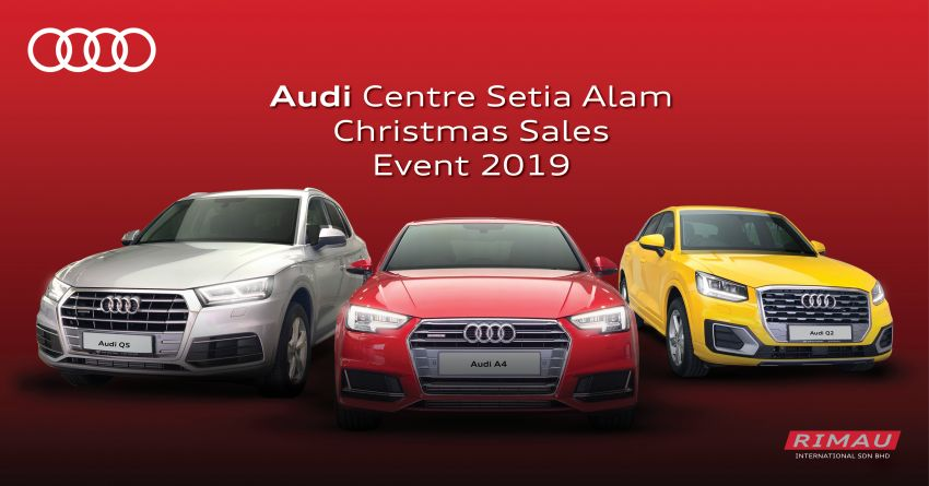AD: Enjoy up to RM30,000 off at the Audi Setia Alam Christmas Sales Event – free 5-year maintenance too! Image #1055012