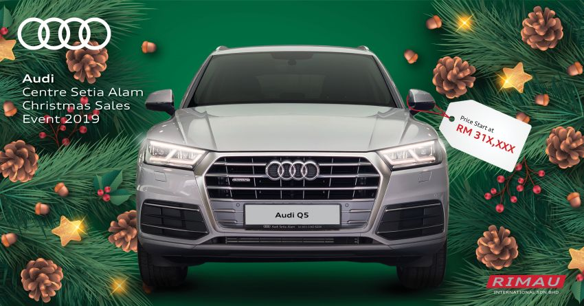 AD: Enjoy up to RM30,000 off at the Audi Setia Alam Christmas Sales Event – free 5-year maintenance too! Image #1055015