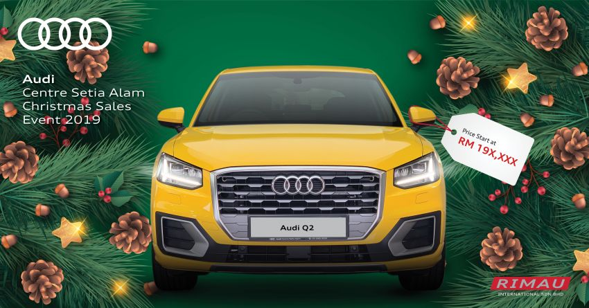 AD: Enjoy up to RM30,000 off at the Audi Setia Alam Christmas Sales Event – free 5-year maintenance too! Image #1055016
