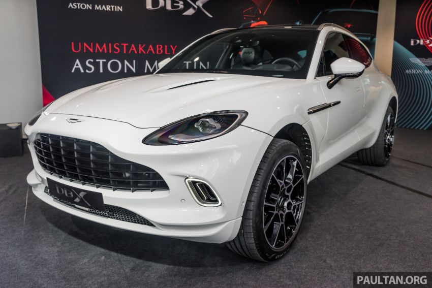 GALLERY: Aston Martin DBX SUV at St Athan factory Image #1057523