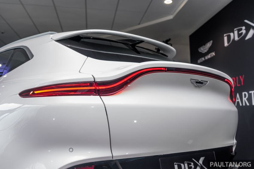 GALLERY: Aston Martin DBX SUV at St Athan factory Image #1057542