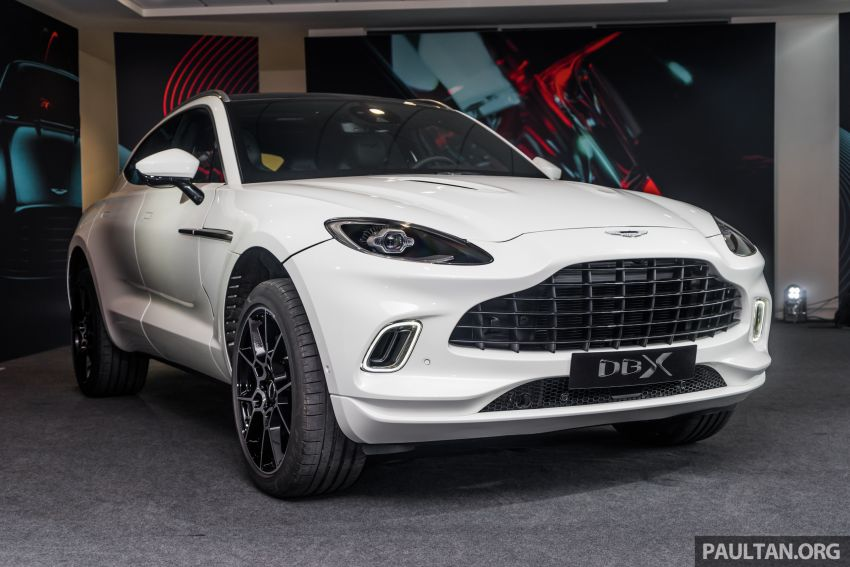 GALLERY: Aston Martin DBX SUV at St Athan factory Image #1057524