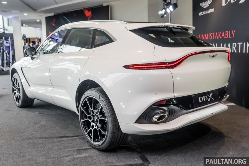 GALLERY: Aston Martin DBX SUV at St Athan factory Image #1057526