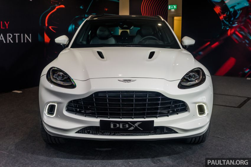 GALLERY: Aston Martin DBX SUV at St Athan factory Image #1057529
