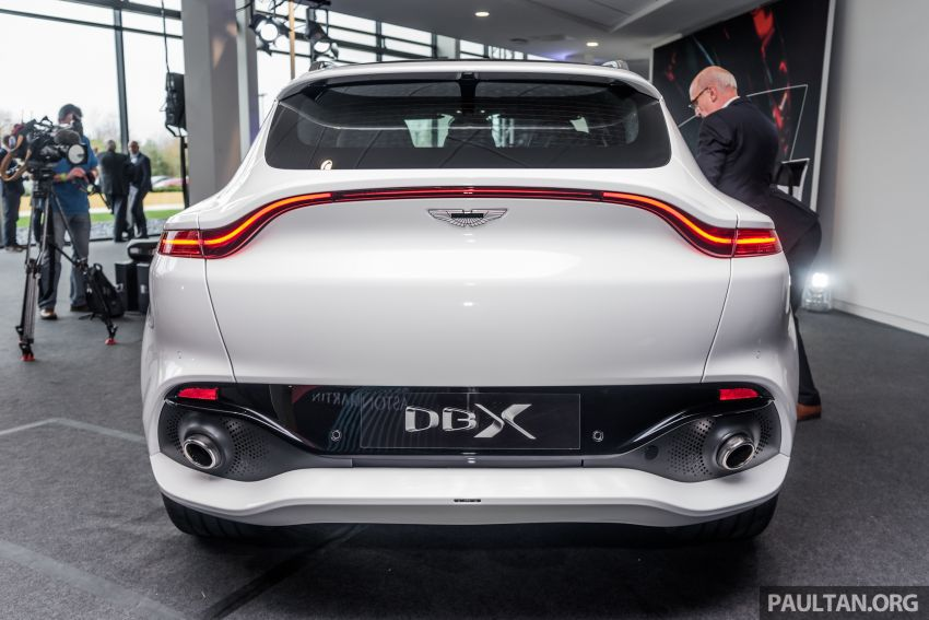 GALLERY: Aston Martin DBX SUV at St Athan factory Image #1057530