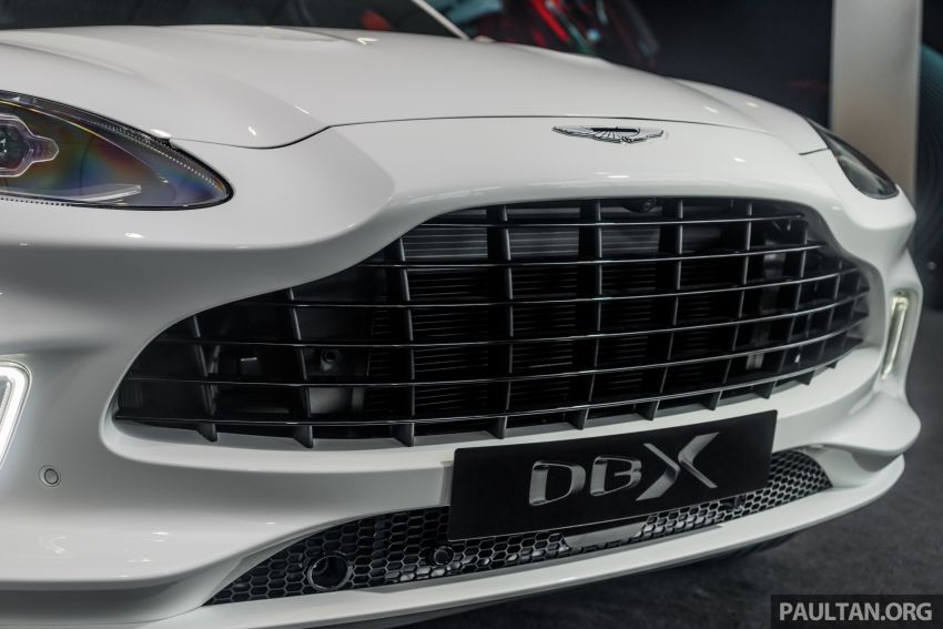GALLERY: Aston Martin DBX SUV at St Athan factory Image #1057534