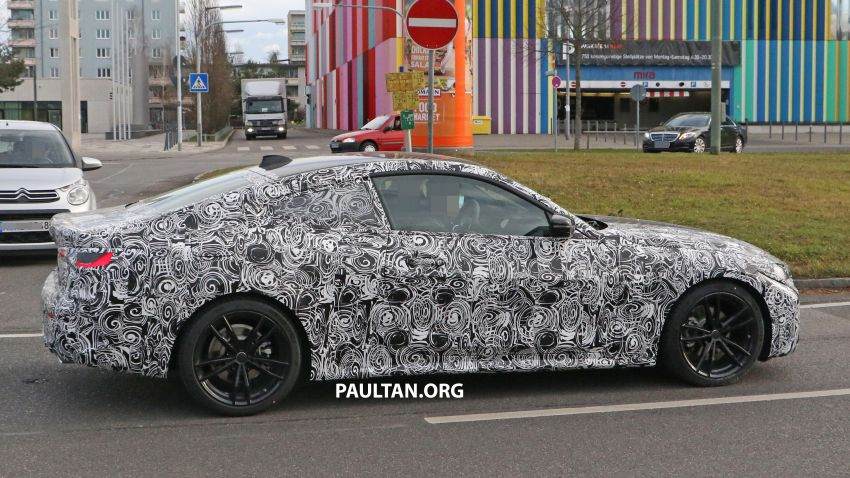 SPYSHOTS: G22 BMW 4 Series continues to shed skin Image #1058523