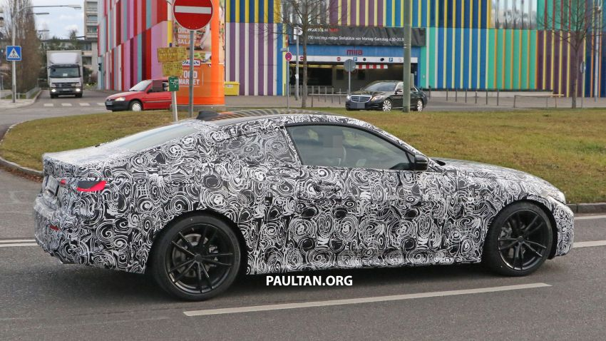 SPYSHOTS: G22 BMW 4 Series continues to shed skin Image #1058524