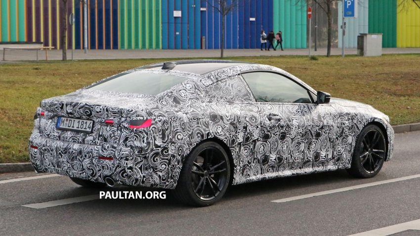 SPYSHOTS: G22 BMW 4 Series continues to shed skin Image #1058525
